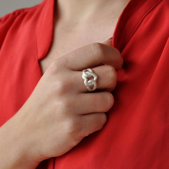 A.Brask - Min förevigt - Ring i silver - Handmodell