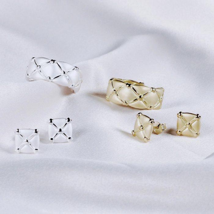 A.Brash - Hjärta justerbar ring - Smycken