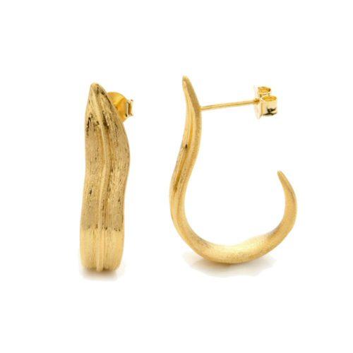 A.Brask - Örhängen med tulpanblad - Örhänge
