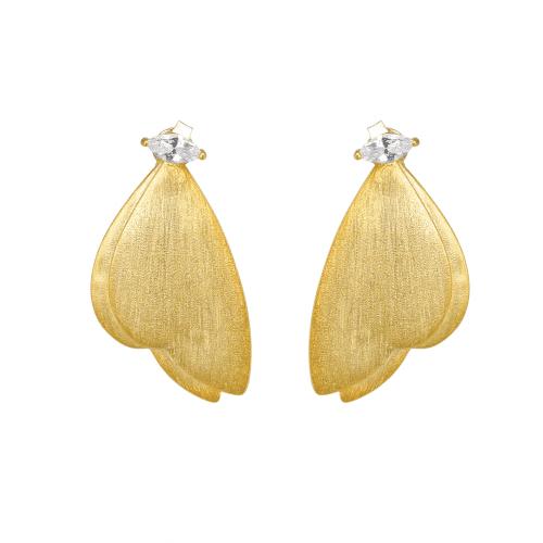 Fjärilsörhängen med stenar - A.Brask